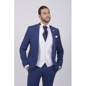 costume Feraud bleu royal